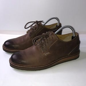 Men's Sperry Gold Cup Brown Leather Oxford 7